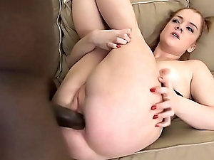 Shaved Fur pie Waxed Ass Tiny Teen Fucked by Black Cock Interracial Anal Sex