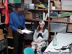 Second-rate shoplifter spunk