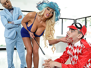 ZZ Kenfucky Derby Featuring Nicolette Shea increased by Jordi El Niño Polla - Thorough Wife Stories HD