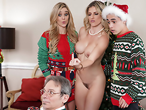 Keep The Xmas Lights Tied On - Mom Cory Track In the porn scene