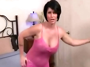 Stepmom catch stepson adhering porn
