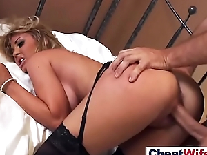 Slut Housewife (kayla kayden) Bang Hardcore In Cheating Action On Tape vid-16